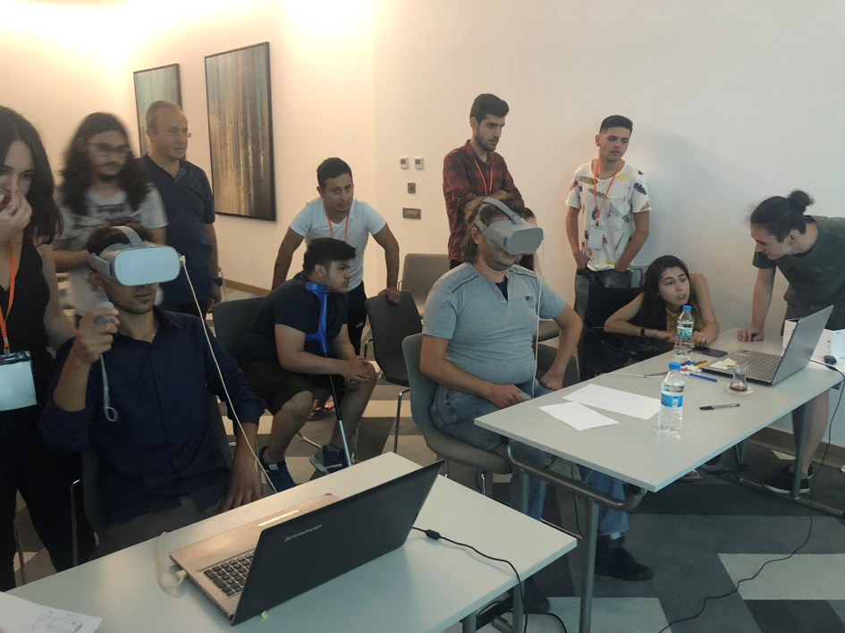 Social and Physical Inclusion of Paraplegic Youth by Using Virtual Reality